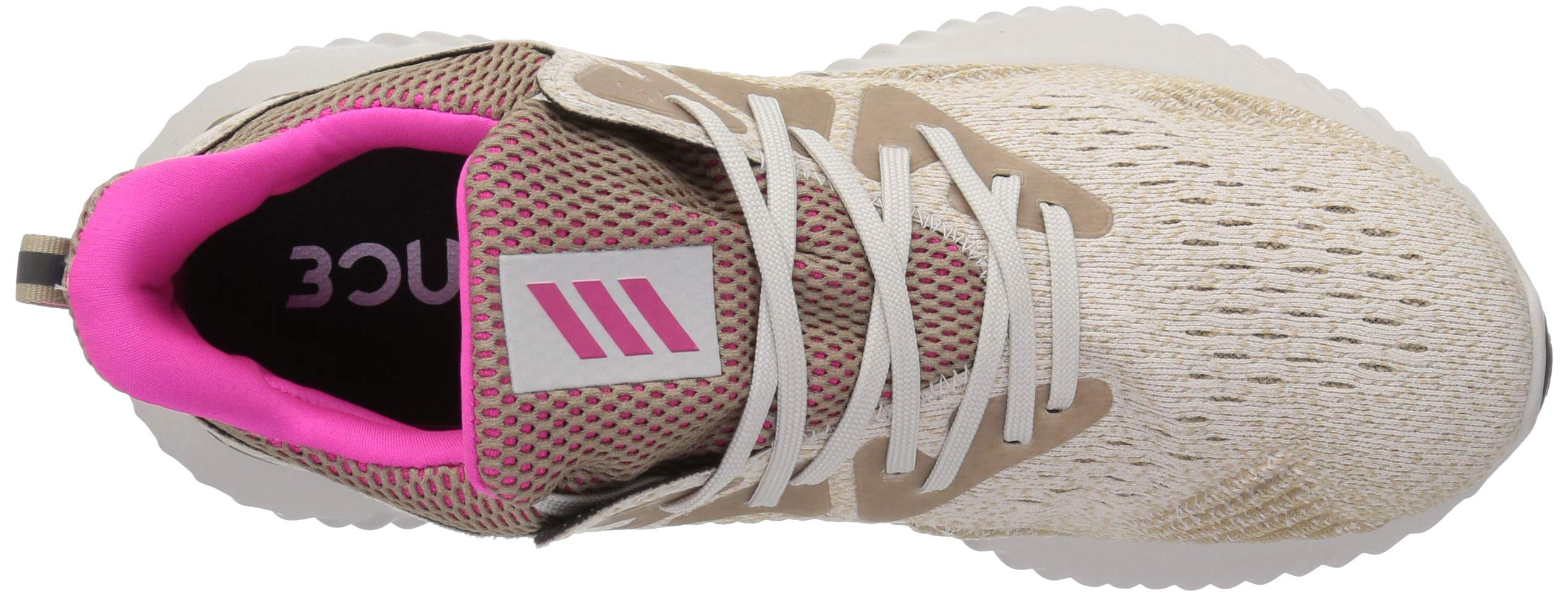 adidas Men's Alphabounce Beyond Running Shoe, Chalk Pearl/Shock Pink/Trace Khaki, 7.5 M US by adidas (Image #8)