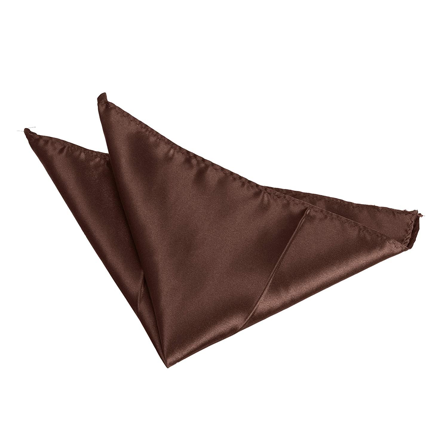 Satin Solid Colour Plain Polyester Pocket Square/Hanky/Handkerchief