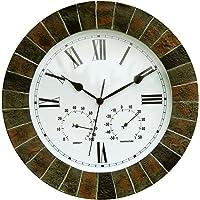 About Time Reloj de pared, efecto de jardín