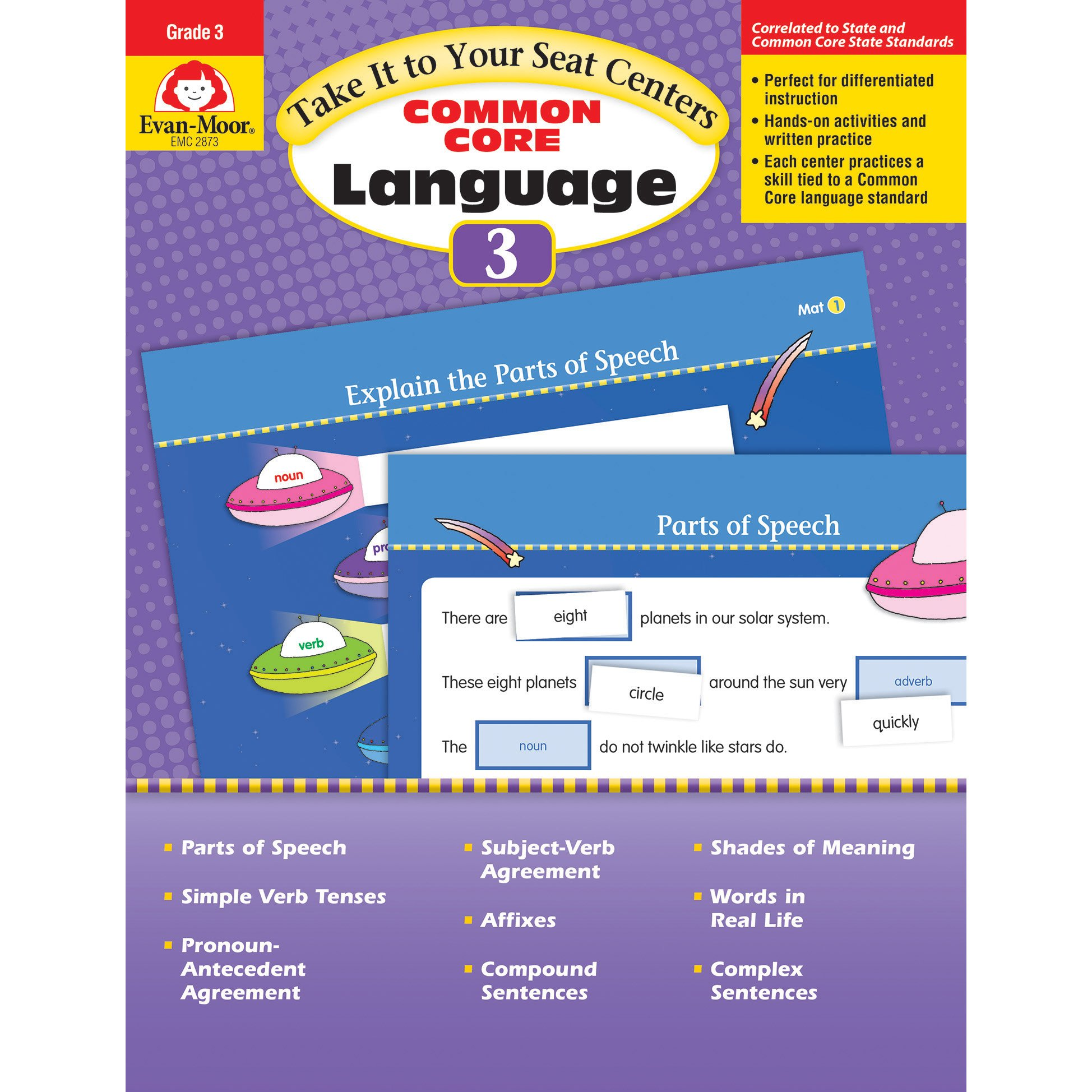 Take It To Your Seat: Language Centers, Grade 3