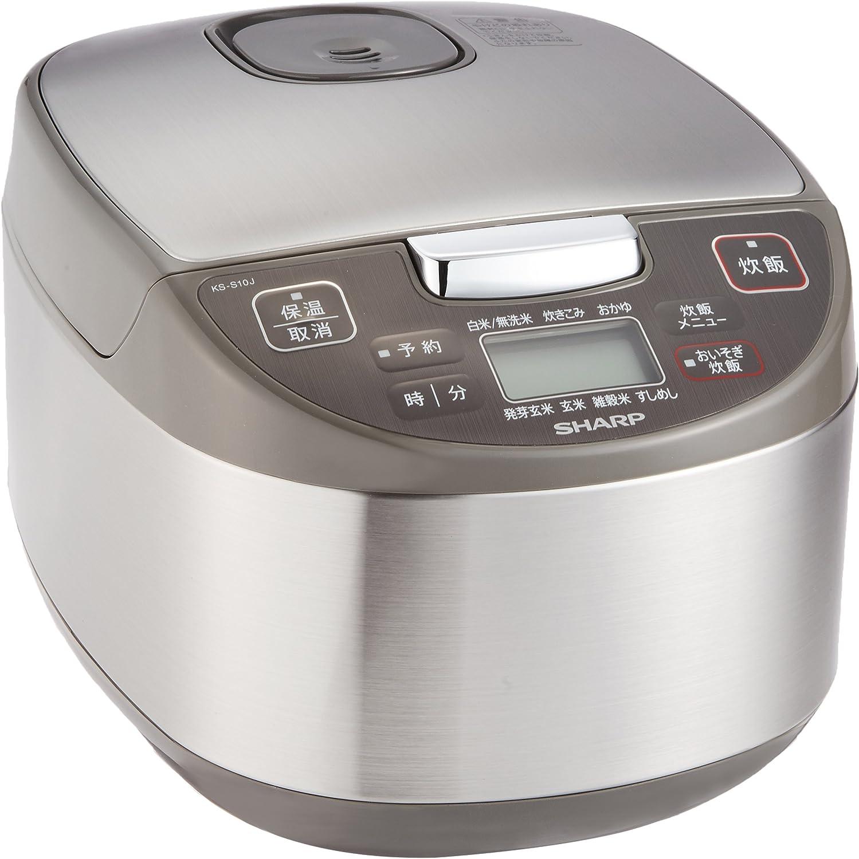 シャープ ジャー炊飯器 5.5合 KS-S10J
