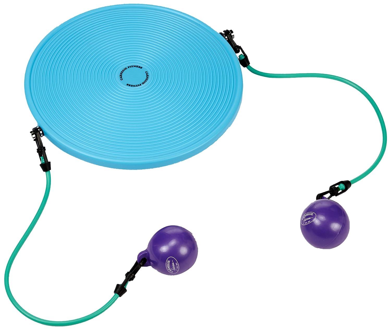 Expander Tubes /& Gewichtsb/älle Carnegie IsoDisc Balance Board Therapiekreisel