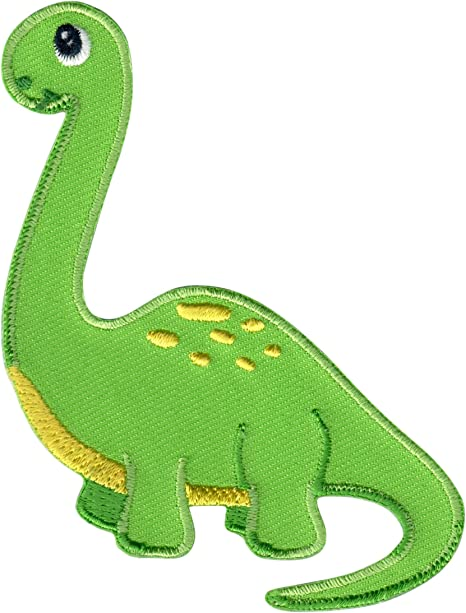 7pcs Cute Dinosaur Cute Dinosaur Iron on Patch Embroidered DIY Patches Cute Applique Sew Iron on Kids Craft Patch for Bags Jackets Jeans Clothes