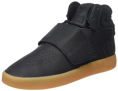 2f69b991fea adidas Herren Tubular Invader Strap Hohe Sneaker, Schwarz (Core  Black/Gum/Footwear