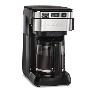 Hamilton Beach 46310 Programmable Coffee Maker, 12 Cups, Black