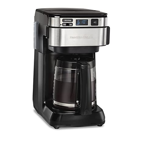 amazon com hamilton beach 46310 coffee maker black kitchen dining rh amazon com Hamilton Beach Replacement Parts Hamilton Beach BrewStation Owner's Manual