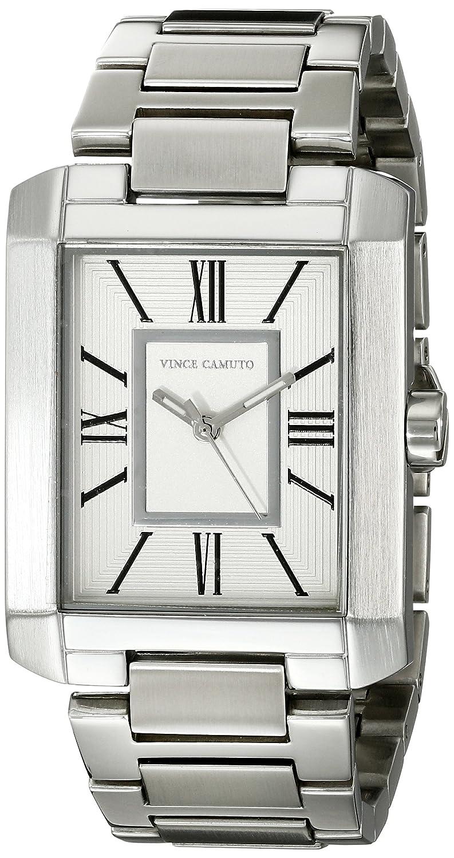 Vince Camuto Damen-Armbanduhr Analog Quarz Edelstahl VC-5229SVSV