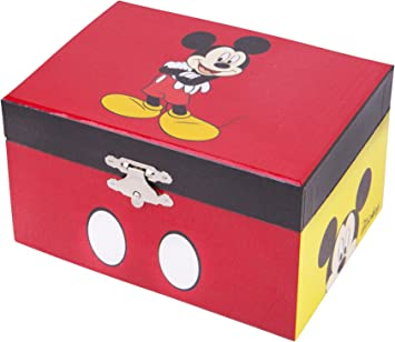 Trousselier Caja de música 50200 - Disney Motivo Mickey Serie compacta (Caja de música, Caja de música, Cajas de música): Amazon.es: Juguetes y juegos