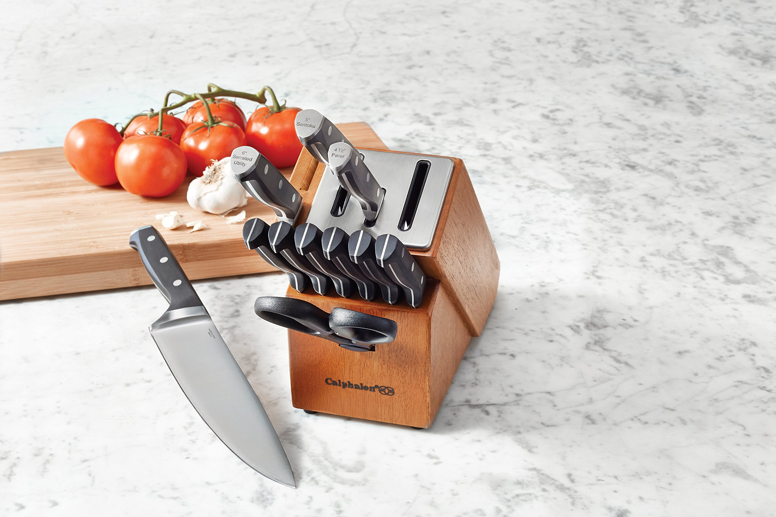 Calphalon Classic Self-Sharpening Cutlery Knife Block Set with SharpIN Technology, 12 Piece by Calphalon (Image #5)