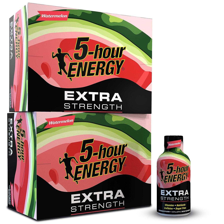 5-hour ENERGY Shot, Extra Strength Watermelon 1.93 oz, 24 count
