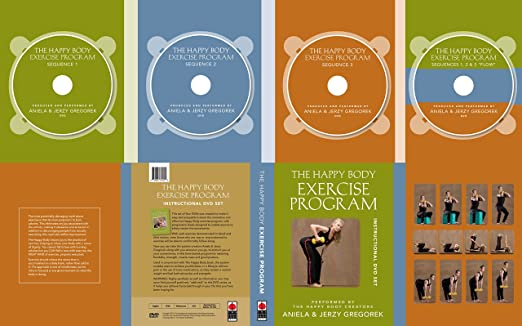 The Happy Body Exercise Program: Instructional DVD Set