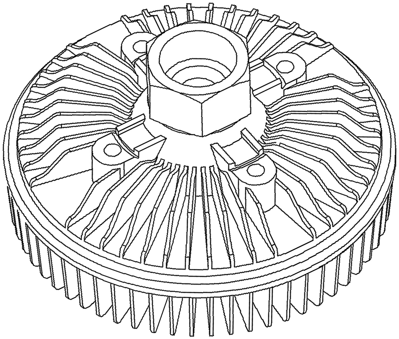 ACDelco 15-4986 GM Original Equipment Engine Cooling Fan Clutch
