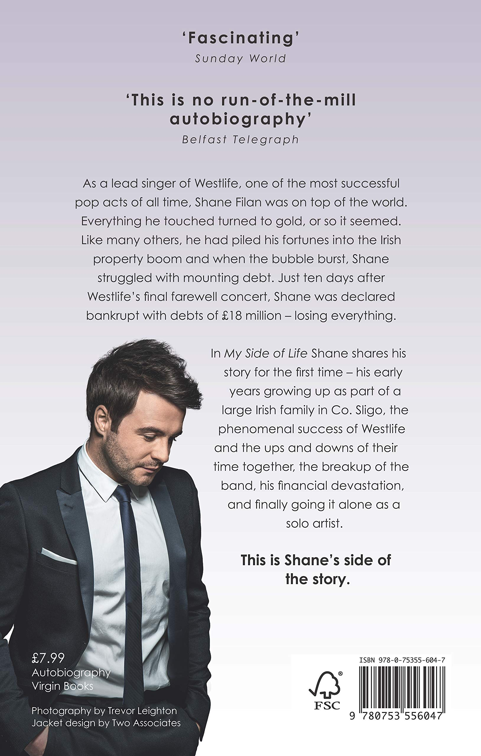 My Side of Life: The Autobiography: Amazon co uk: Shane