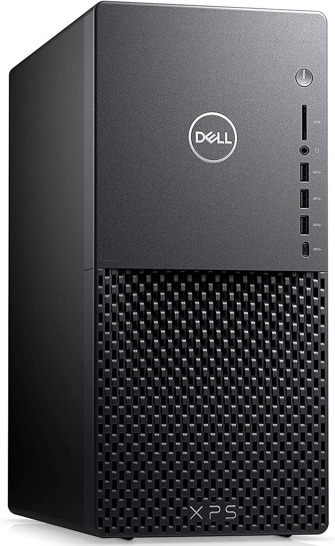 Flagship 2021 Dell XPS 8940 Desktop Computer 10th Gen Intel Quad-Core i3-10100 (Beats i5-8400)8GB RAM 256GB SSD Intel UHD Graphics 630 USB C WiFi Keyboard Mouse Win 10