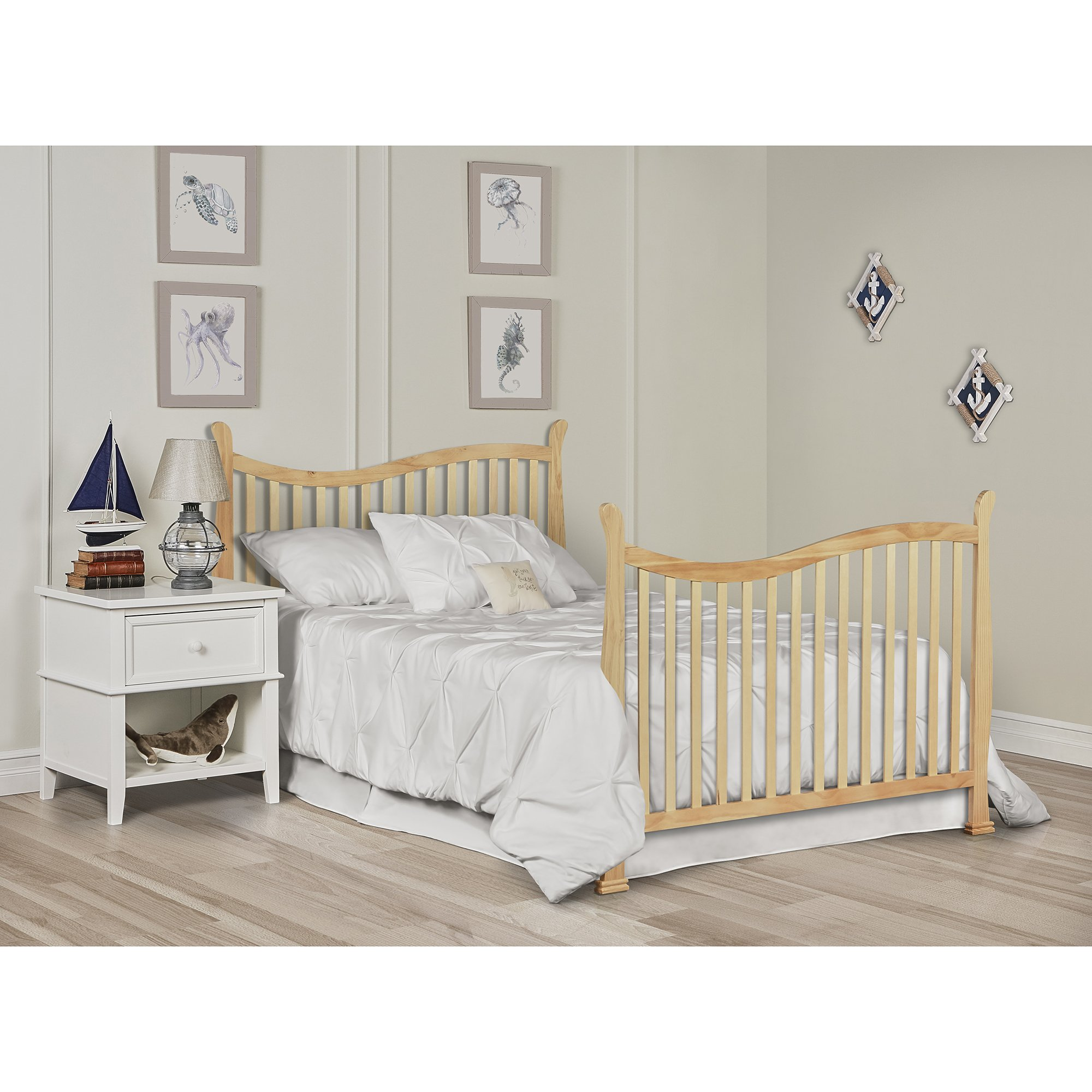 Dream On Me Violet 7 in 1 Convertible Life Style Crib, Natural by Dream On Me (Image #6)