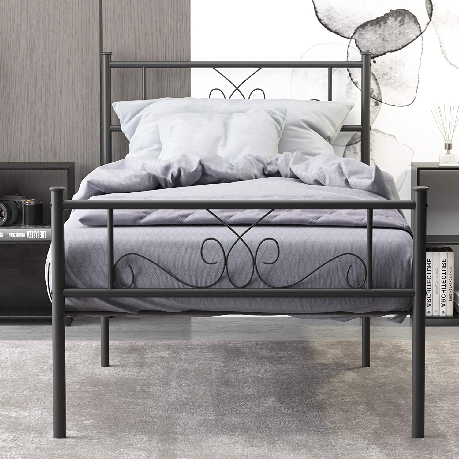 Best for Versatility Twin Bed: WeeHom Metal