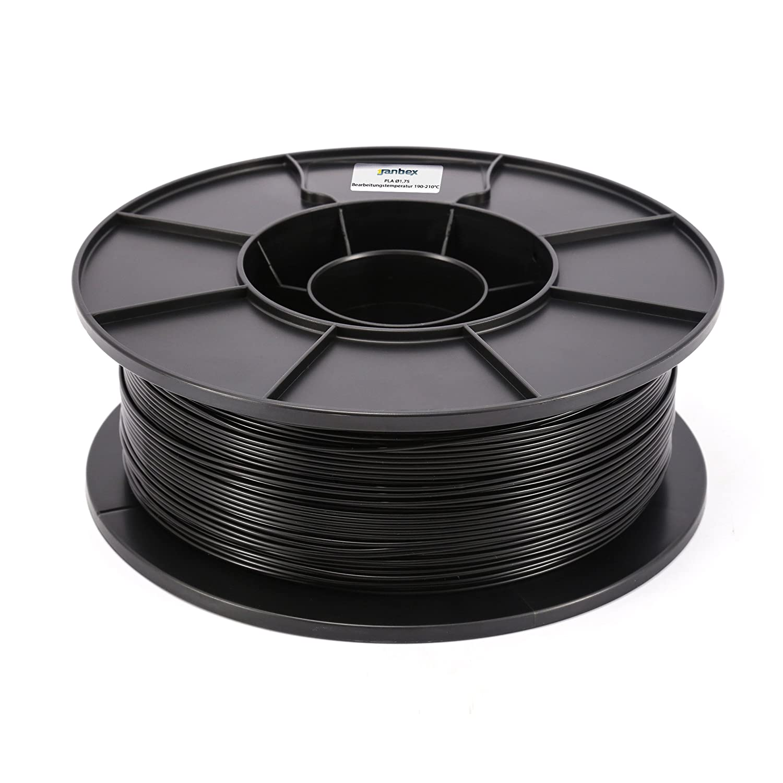janbex PLA Filamento 1,75 mm 1 kg carrete para 3d impresora o ...