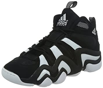 competitive price a98e1 bd6f2 adidas Crazy 8 Chaussures de Basketball pour Homme, Noir - Blanc