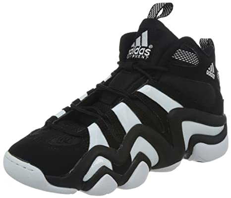 official photos 2442a 17a41 adidas Crazy 8 Uomo Scarpe da Basket, NeroBianco