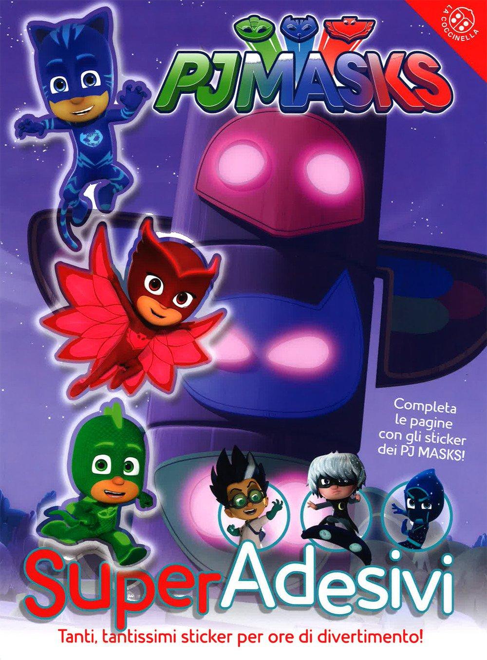 Pj Masks. Super adesivi. Ediz. a colori: Amazon.es: Libros en idiomas extranjeros