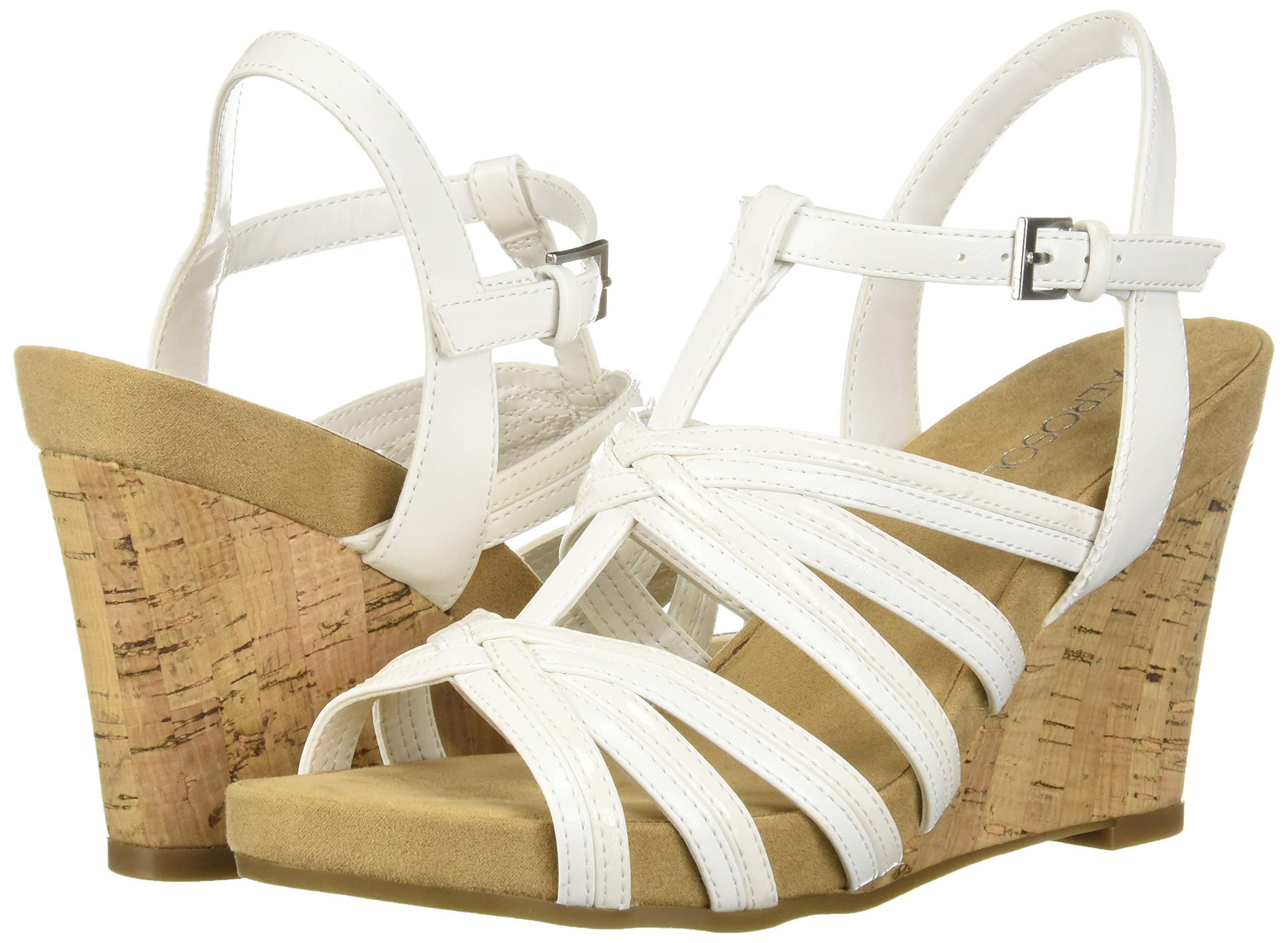Choose SZ//Color. Aerosoles PLUSH AHEAD Womens Plush Ahead Wedge Sandal