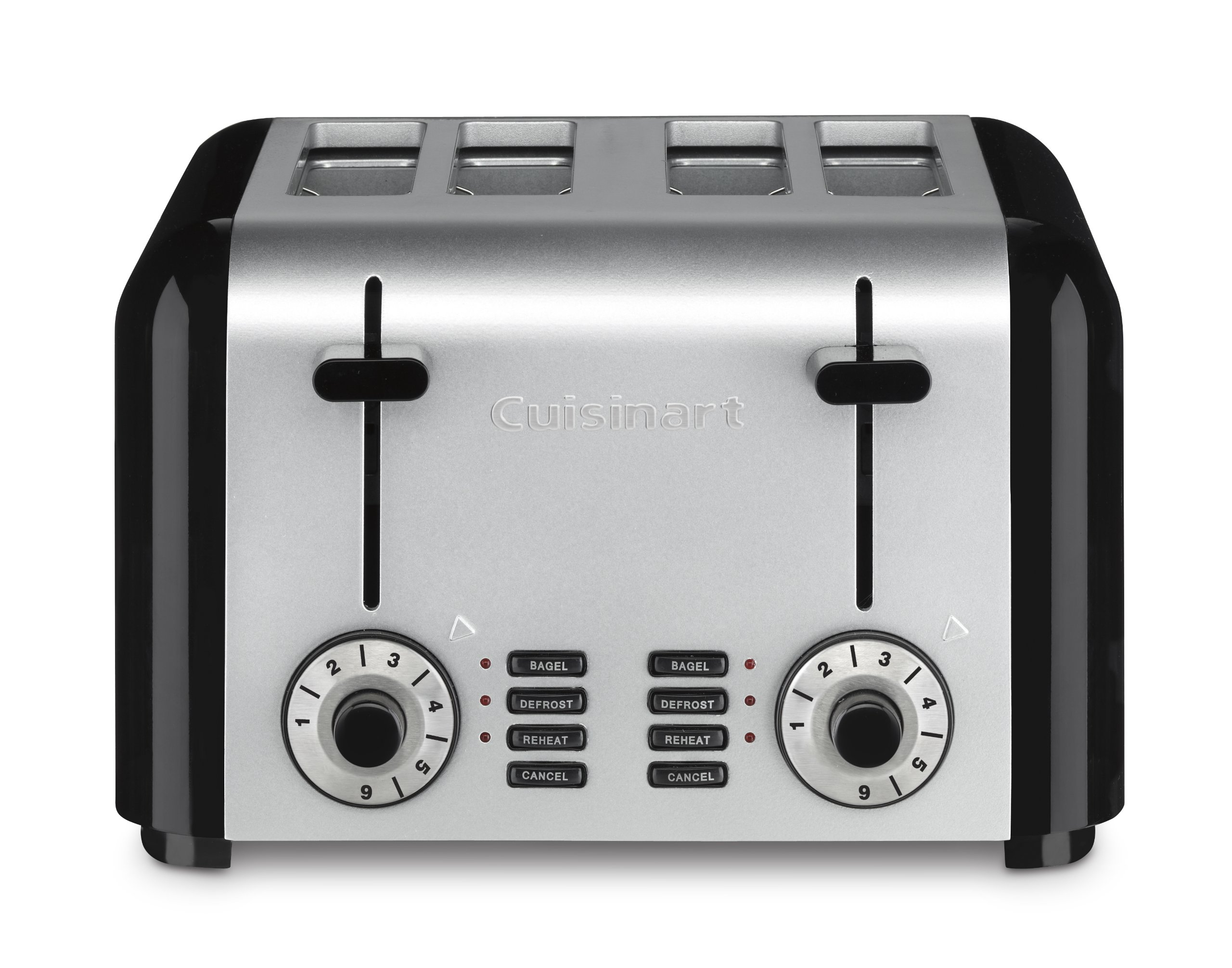 Cuisinart CPT-340 Compact Stainless 4-Slice Toaster, Brushed Stainless by Cuisinart