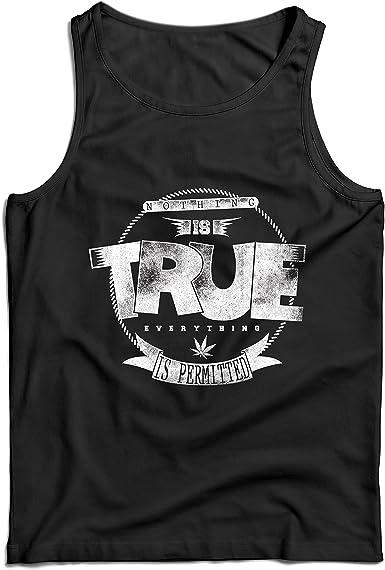 lepni.me Camisetas de Tirantes para Hombre Nada es Cierto ...