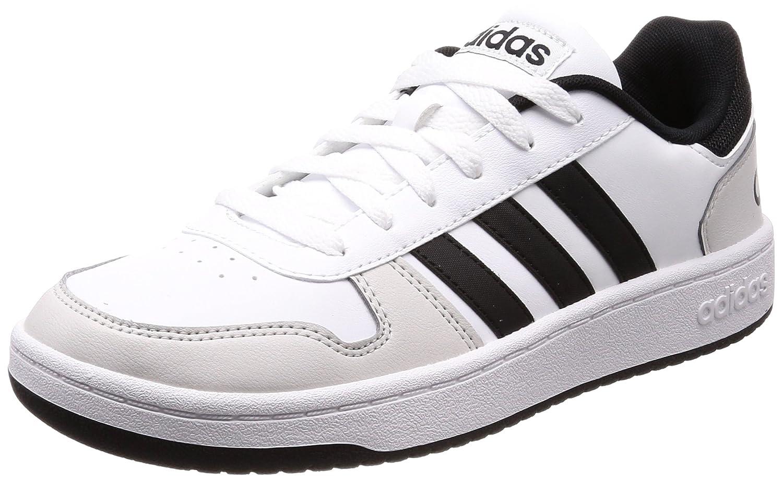 Weiß (Ftwbla   Negbas   Grüno 000) adidas Herren Hoops 2.0 Fitnessschuhe