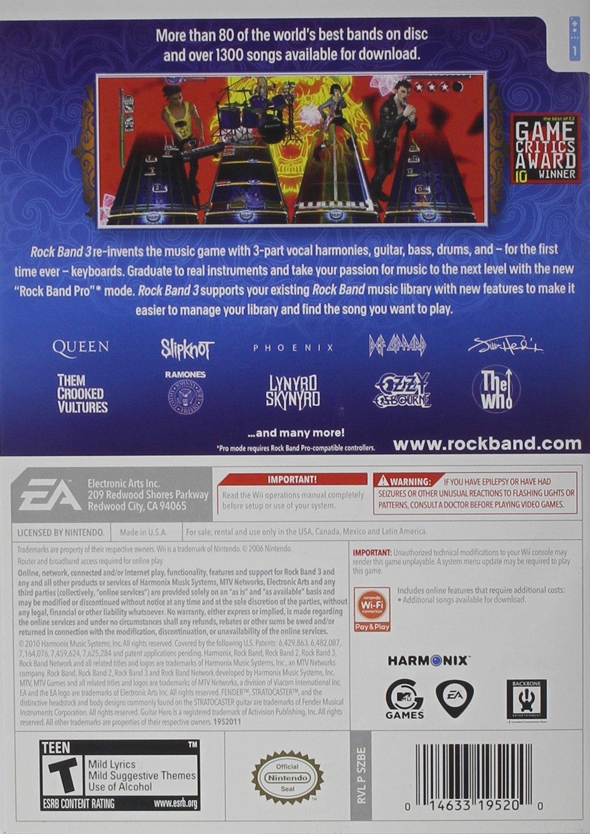 Rock Band 3 by Electronic Arts (Image #1)