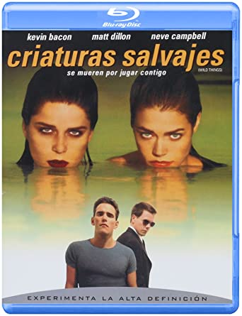Criaturas Salvajes Blu Ray Kevin Bacon Matt Dillon Neve