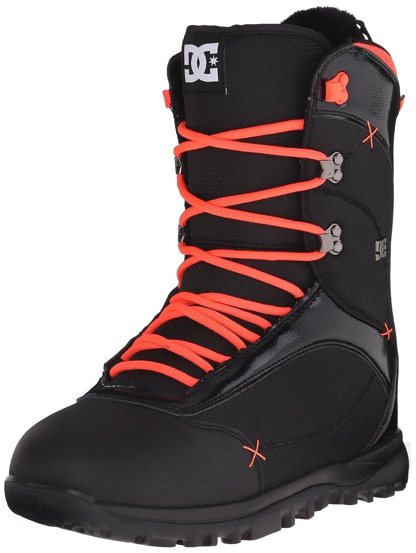 DC Women's Karma Snowboard Boot, Black/Coral, 9B