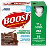 BOOST High Protein Meal Replacement Drink, Chocolate, 24 x 237 ml