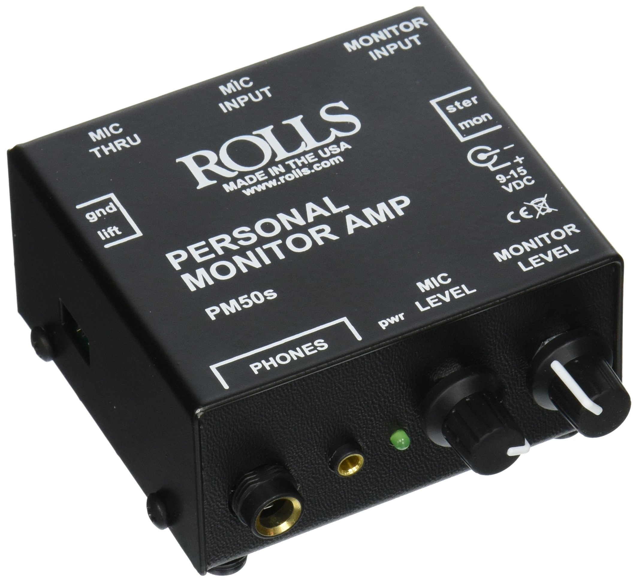 Rolls PM50s Personal Monitor Amplifier by rolls