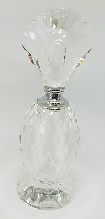 Oleg Cassini Crystal Perfume Bottle Camille 492260 Amazon Home
