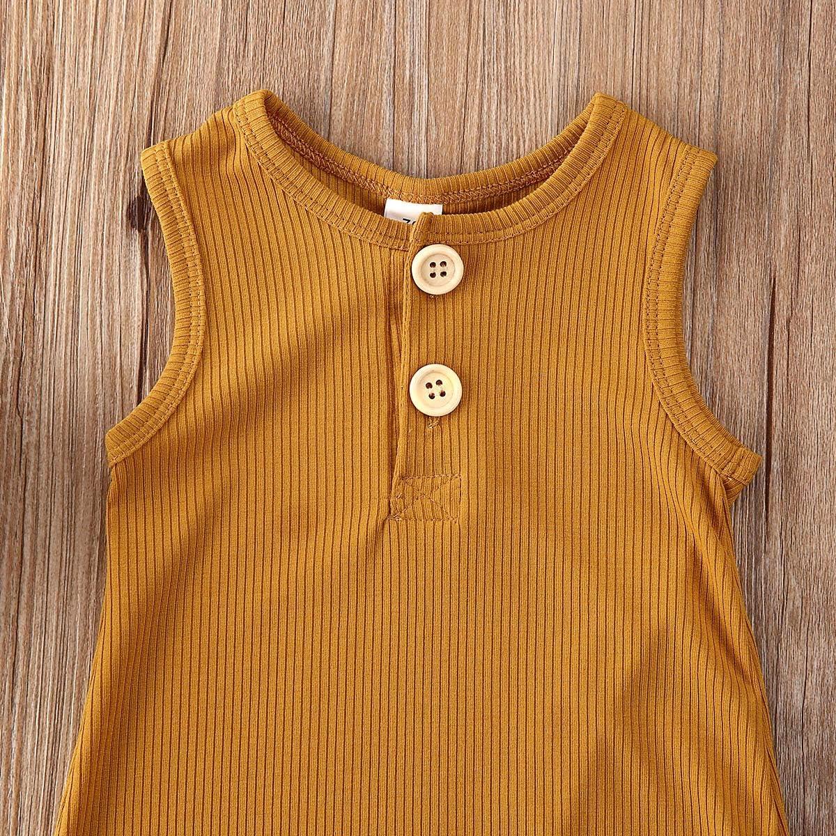 iddolaka Newborn Summer Baby Boy Girl Romper Bodysuit Jumpsuit Playsuit One Piece Outfit Clothes