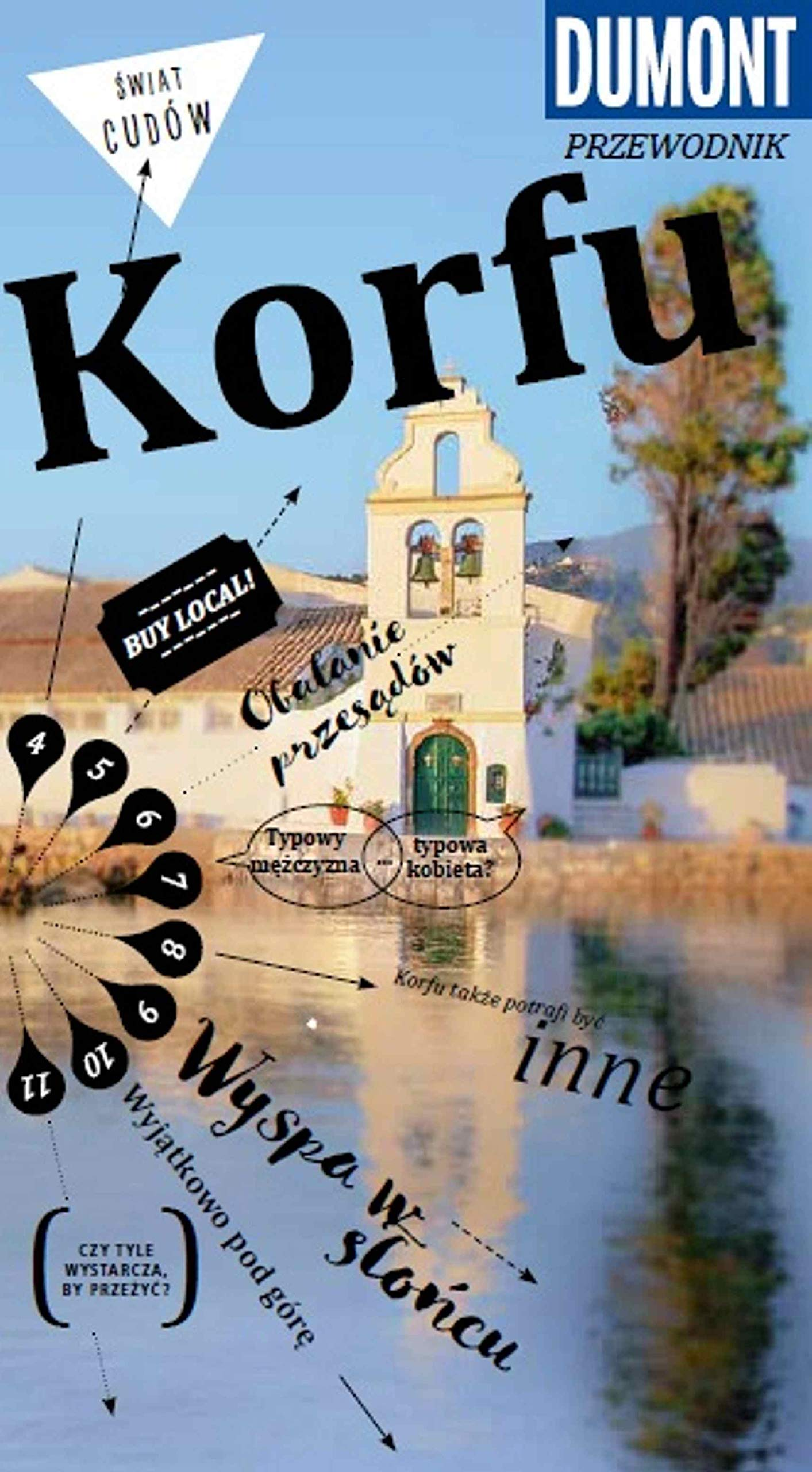 Korfu Przewodnik Dumont Z Mapa Polish Edition Klaus