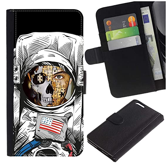 [Puzzle Man Face Astronaut] for Motorola Droid Turbo 2 / Moto X Force,