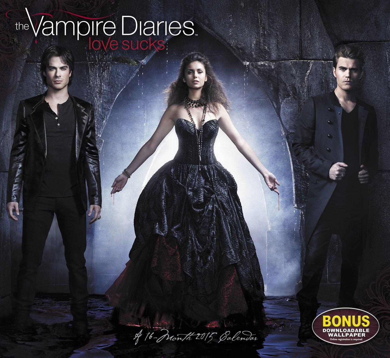 The Vampire Diaries Love Sucks 2015 Calendar: Amazon.es ...