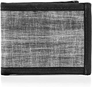 product image for Flowfold Vanguard Bifold Wallet Durable Slim Wallet Front Pocket Wallet Made in USA, Bifold (Heather Grey)