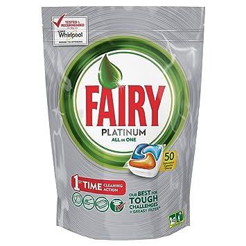 Pastillas para lavavajillas, 70 cápsulas, de la marca Fairy ...