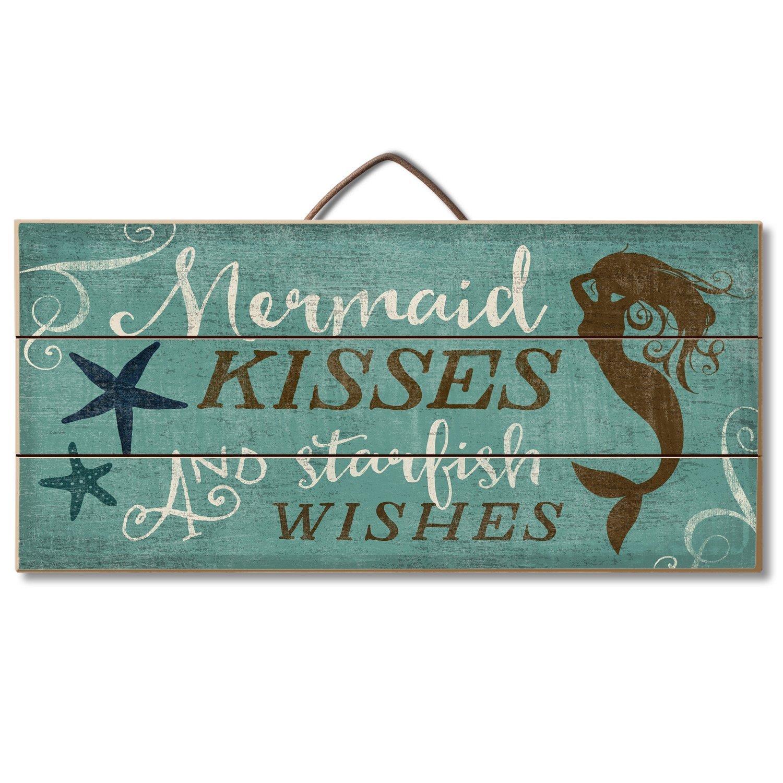 Amazon.com: Rustic Cast Iron Mermaid Welcome Sign 12