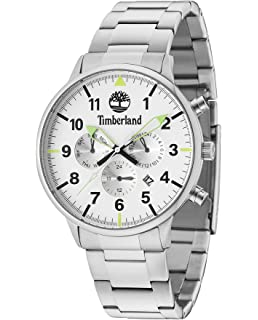 Timberland Mens Analogue Classic Quartz Watch with Leather