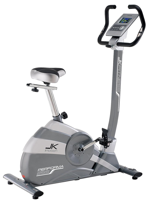 JK FITNESS Performa jk255 Heimtrainer, elektromagnetisch, grau Silber