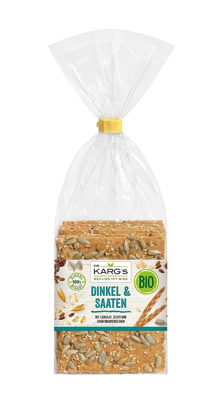 Dr Karg - Pan crudo, semillas orgánicas, 7.05 oz, 5 unidades ...