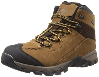 Wolverine Black Ledge LX Waterproof Leather MidCut Hiking Boot