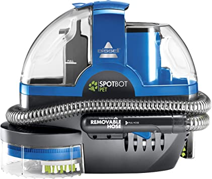 Bissell Spotbot Pet Handsfree Spot And Stain Portable Deep Cleaner Blue 2117a