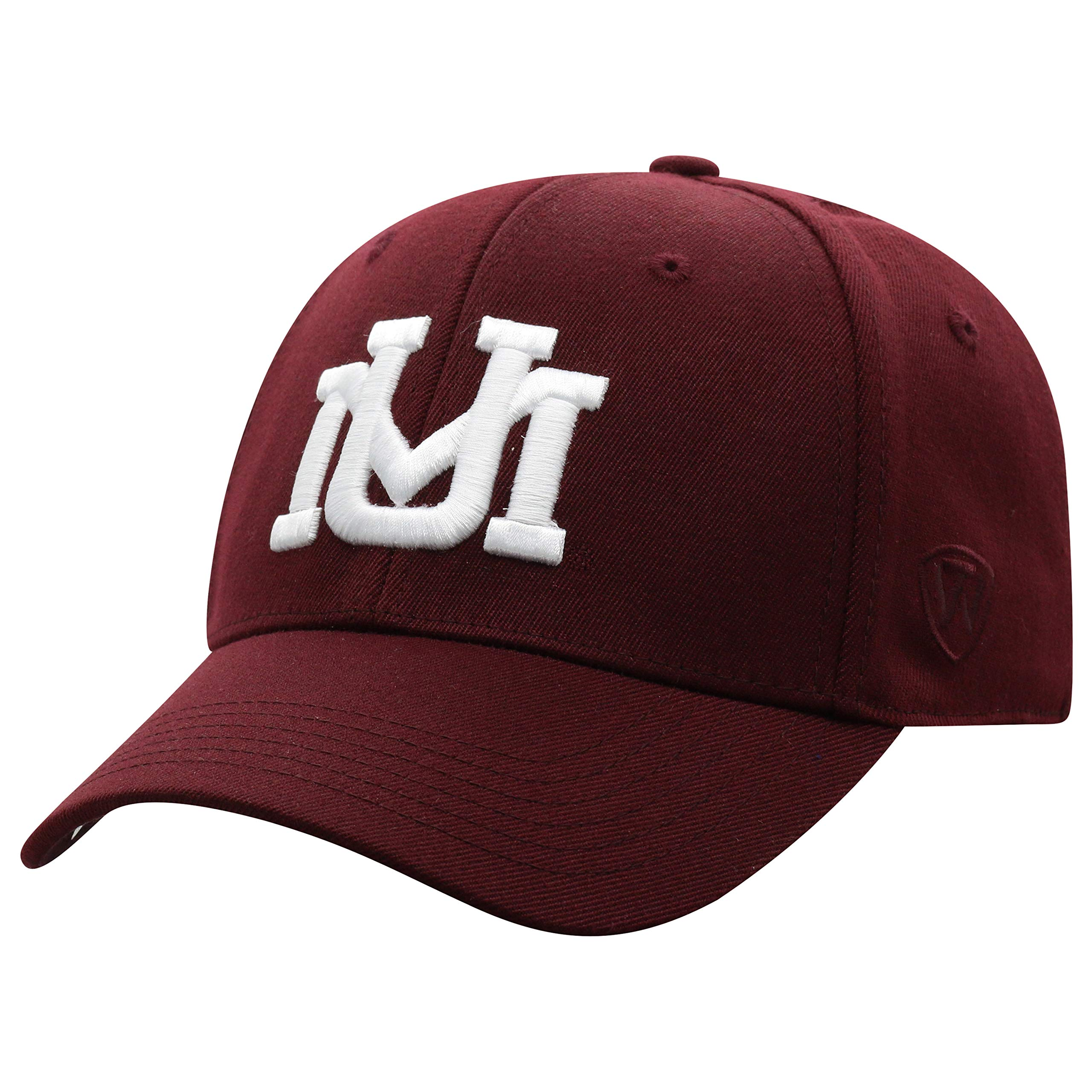 Top of the World Montana Grizzlies Men's Memory Fit Hat Icon, Maroon, One Fit