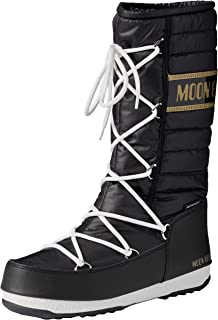 7aea563f5 Moon Boot Unisex Kids' We Quilted Jr Wp Snow, Multicolour (Blu Navy ...