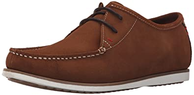 Hush Puppies Men's Briggs Portland Moccasin, Rust Suede, 12 M US