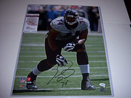 3601c53f6 Image Unavailable. Image not available for. Color  Autographed Michael Oher  ...